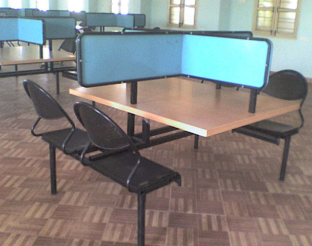 LIBRARY TABLE - 4 Seater